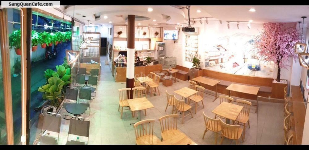 Sang quán cafe 2 mặt tiền đẹp