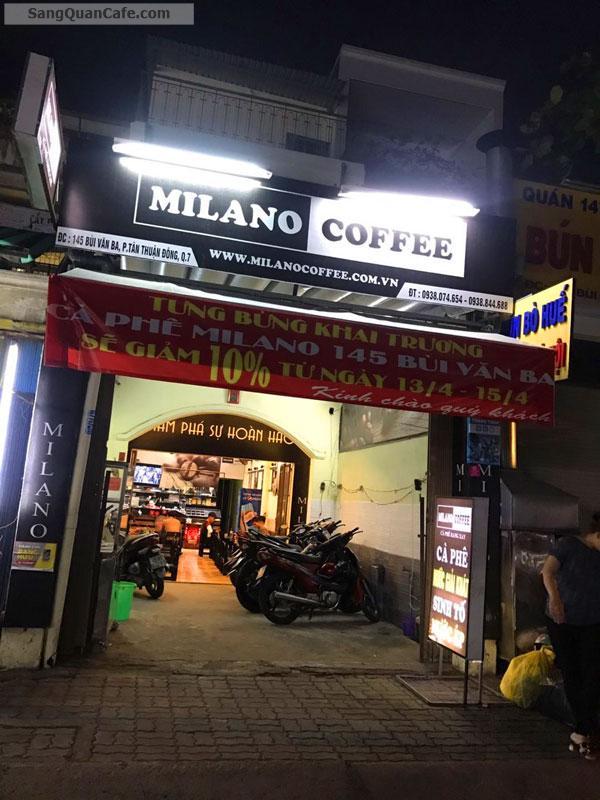 Có em bé cần sang quán cafe Milano