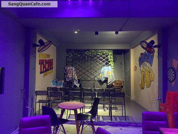 Sang quán coffee - trà sữa mặt bằng 4 tầng