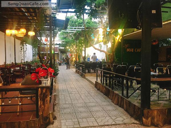 Sang Cafe Sân Vườn diện tích 1000 m2 ,