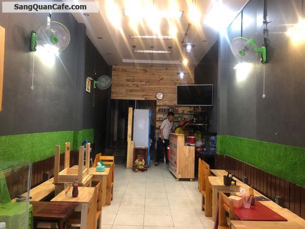 Sang mặt bằng quán cafe đẹp