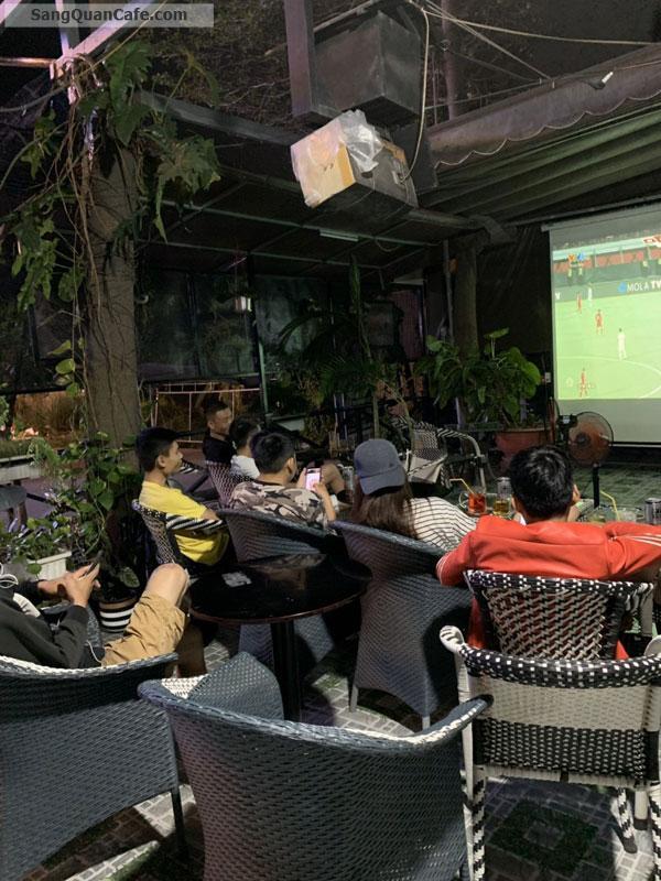 Sang Cafe Sân Vườn DT: 300 m2, Giá thuê : 7 tr