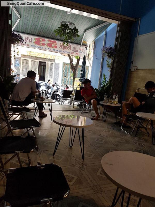 Sang quán cafe vị trí đẹp 4 x 22m,