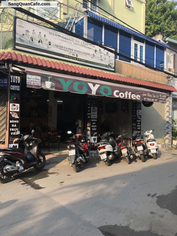 Sang quán cafe 2 mặt tiền 7m x 7m