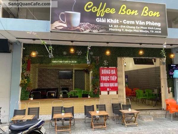 Sang quán cafe CC Phan Xích Long