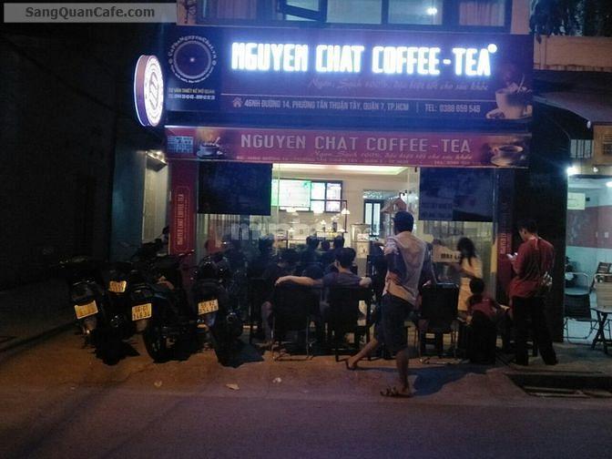 Sang lại Quán Cafe Góc 2 Mặt Tiền quận 7