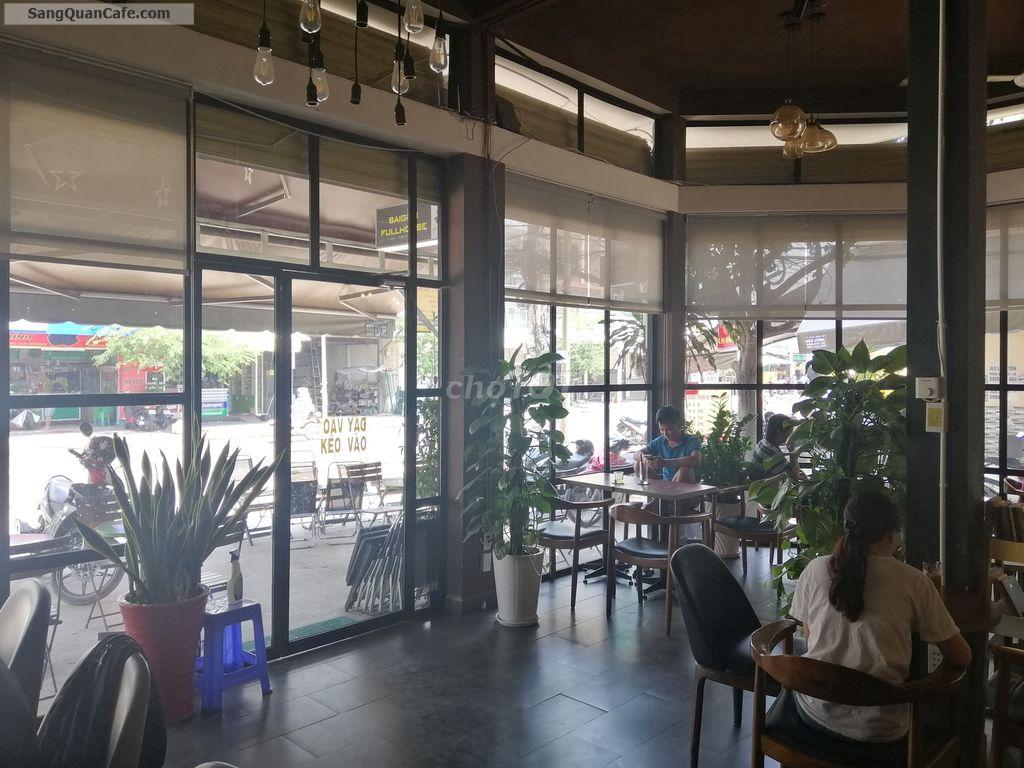 Sang Quán Café Văn Phòng 2 góc mặt tiền vị trí cực đẹp