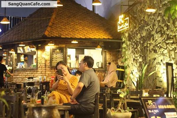 Sang nhanh quán cafe góc 2 mặt tiền quận Tân Phú