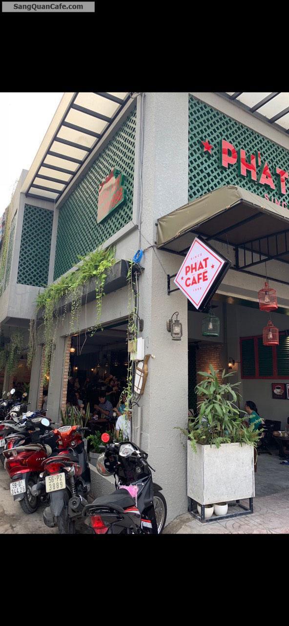 Cần sang lại quán cafe 2 mặt tiền Q.Tân Phú