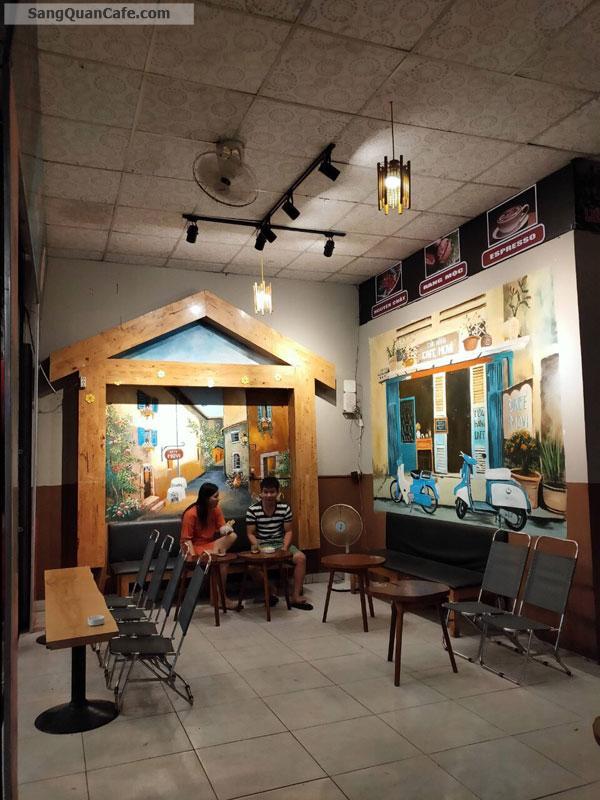 Sang lại quán Cafe giá rẻ ngay trung tâm quận 12.