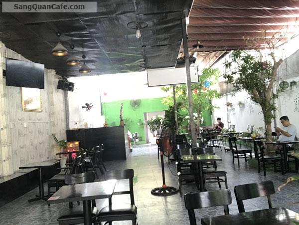 Sang quán cafe vị trí đẹp kinh doanh tốt