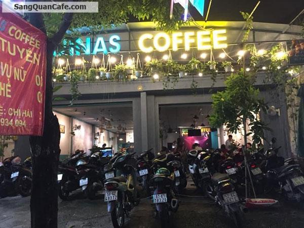 Sang quán cafe mặt tiền cực đông khách 10m x 30m