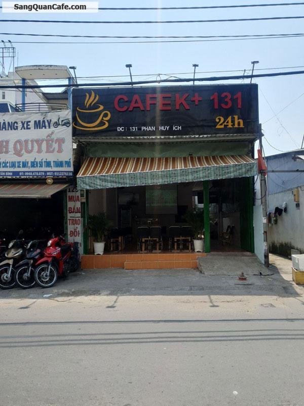 Sang quán cafe mặt tiền có 7 phòng trọ và 1 phòng ở
