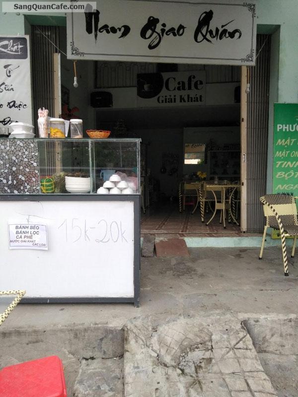 Cần sang gấp quán Cafe Góc mặt tiền
