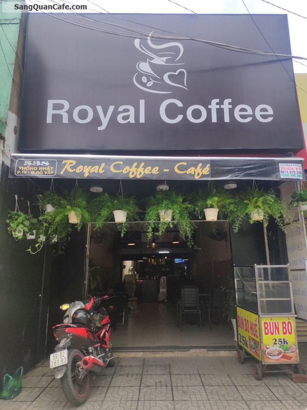 Cần sang quán Cafe giá rẻ quận Gò Vấp