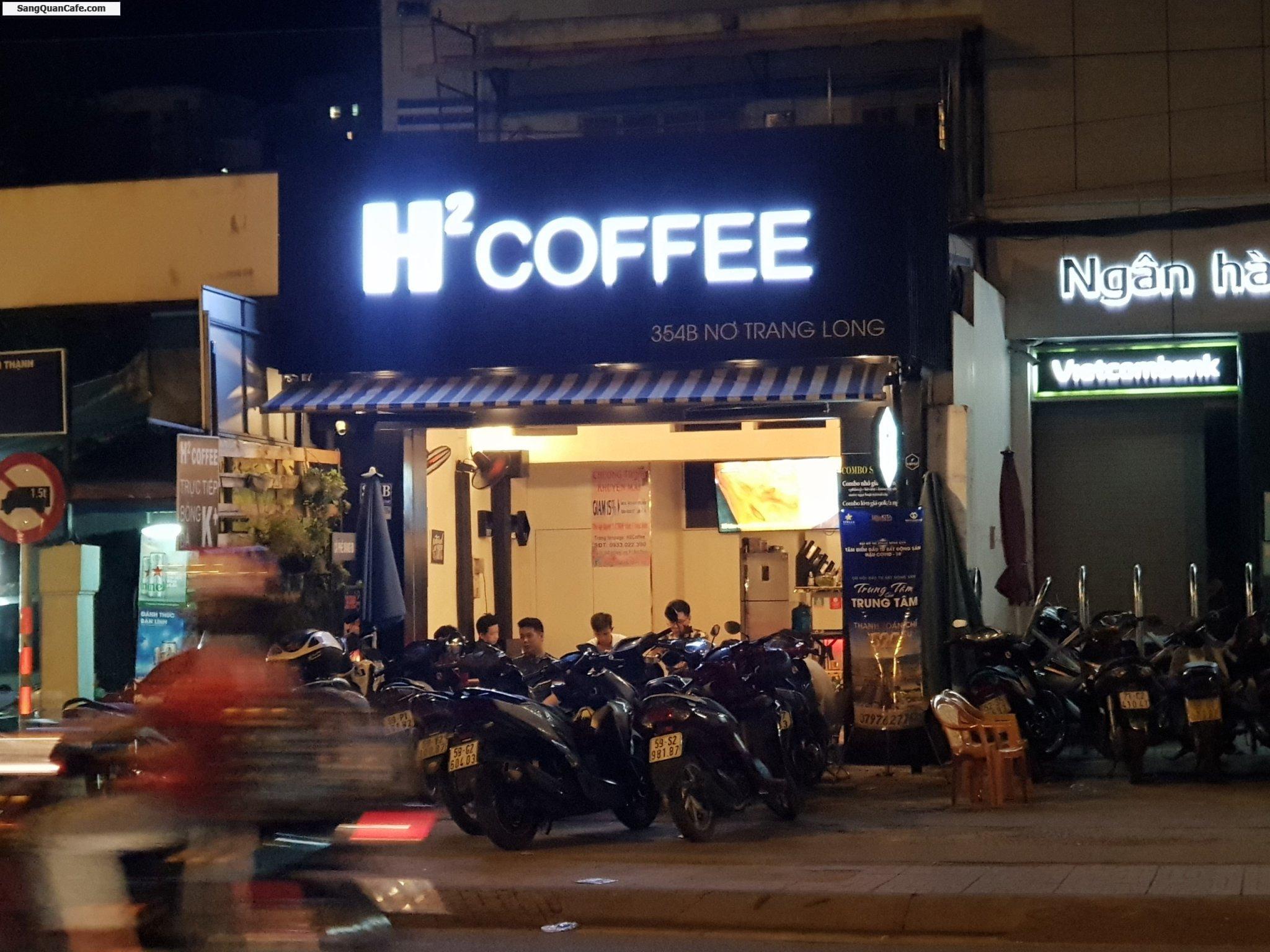 Sang quán cafe 5 x 11m ( vỉa hè rộng 7m )