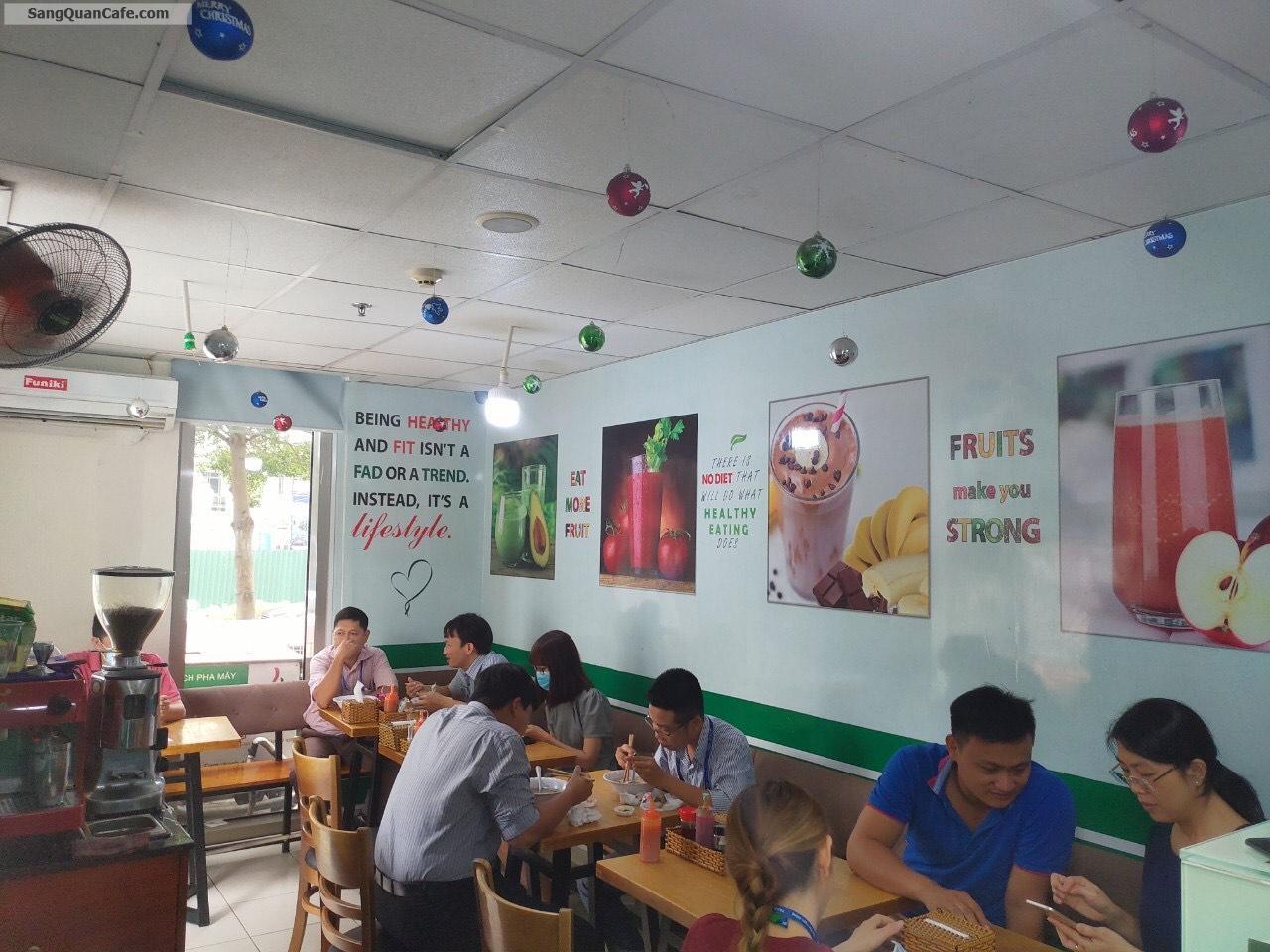 Sang quán cafe cơm trưa văn phòng vị trí đắc địa