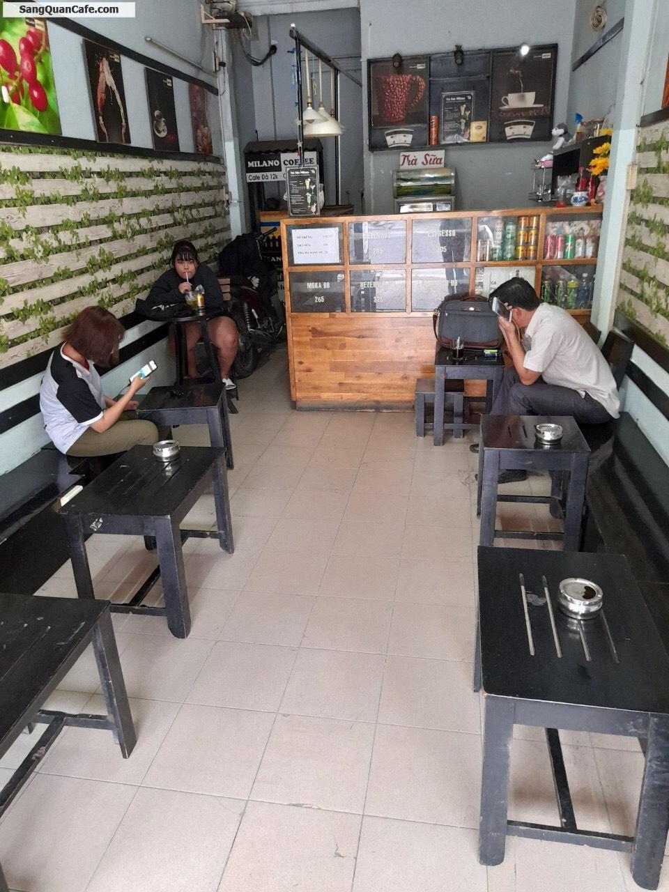 Sang quán MILANO COFFEE khách quen và ổn đinh