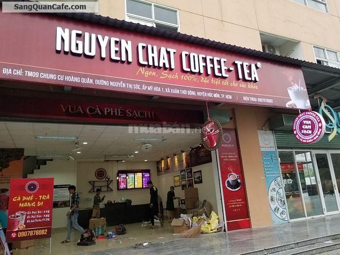 Cần sang lại quán Café nguyên chất hoạt động tốt.