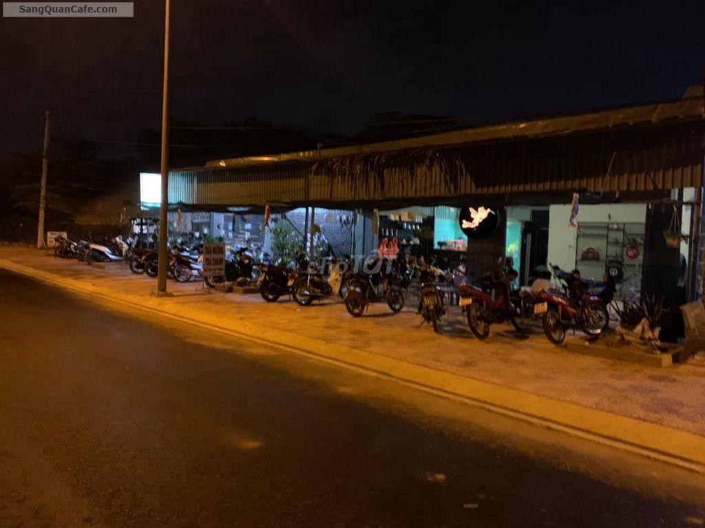 Sang quán cafe bờ kè ngã Ba sông, kết hợp võng