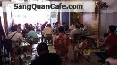 Sang quán cafe vị trí đẹp đông khách