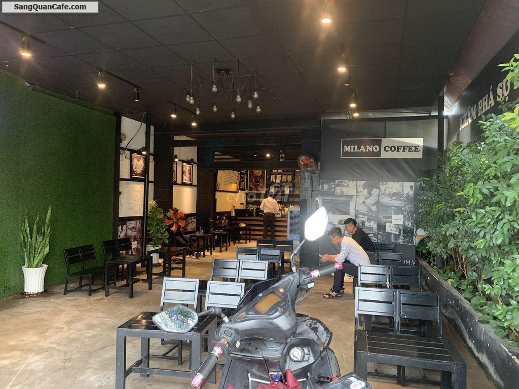 Sang quán coffee Milano ngay sát chợ Tân Phước Khánh 6 x15m