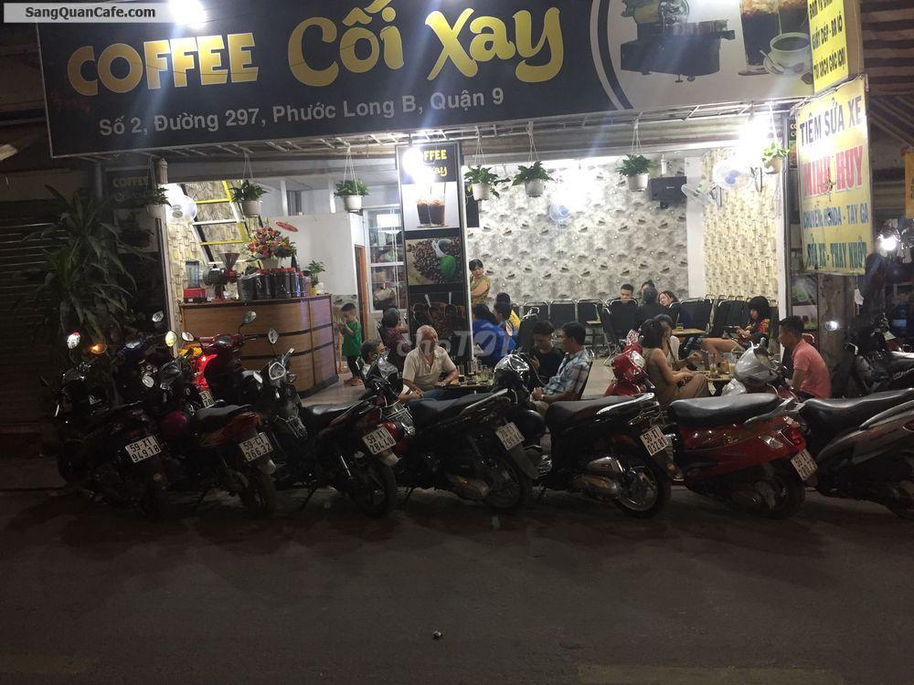 Sang Quán Cafe Số 2 Đường 297, Phước Long B Q. 9