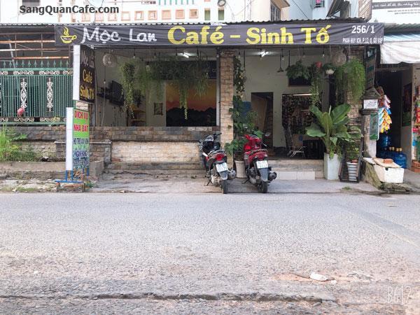 ang quán cafe mặt bằng đẹp rộng 7m