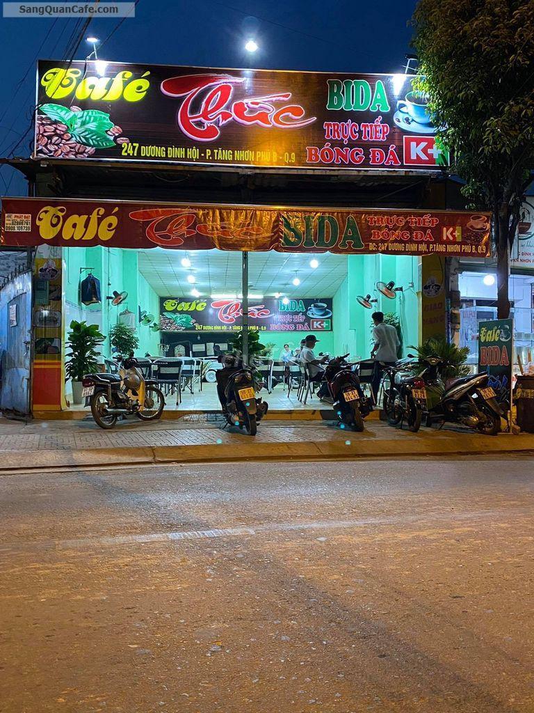Cần sang quán cafe bida võng đối diện trường cao đẳng