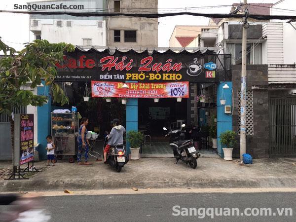 Cần sang gấp quán ăn và cafe khu CX Ngân Hàng
