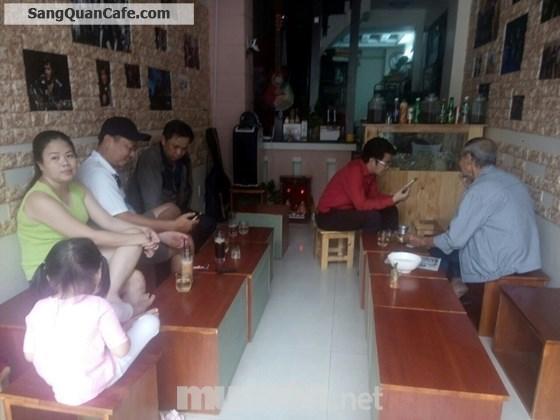 Sang gấp quán cafe đường Trần Huy Liệu