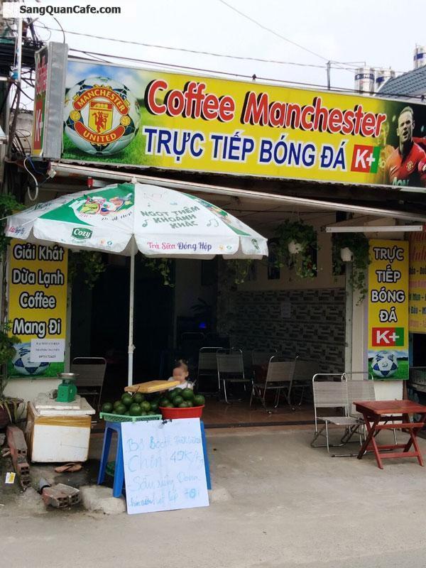 Cần sang gấp quán cà phê K+ khu dân cư đông