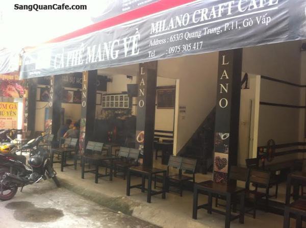 Cần sang gấp quán cafe đường Quang Trung