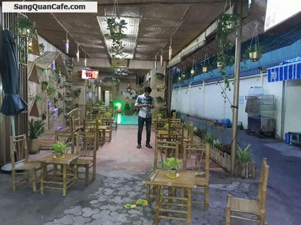 Cần sang gấp quán Cafe góc 2 mặt tiền