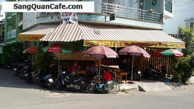 Sang gấp quán cafe góc 2 mặt tiền đường Chợ Lớn