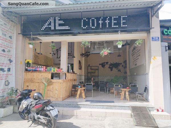 Cần sang gấp quán cafe mặt tiền Dương Quãng Hàm.