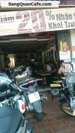cần sang gấp quán cafe mặt tiền quận Tân Bình