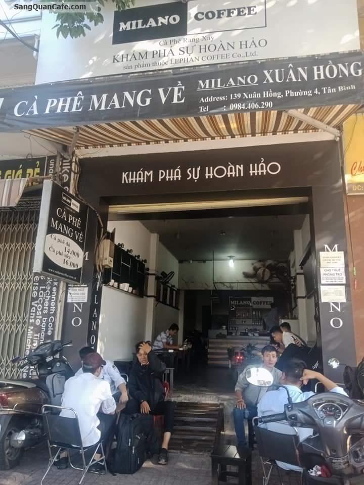 Cần sang gấp quán cafe mặt tiền Xuân Hồng