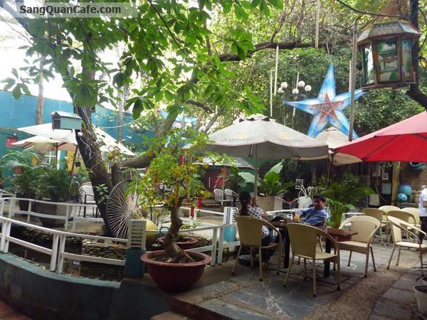 Cần sang gấp quán cafe Máy lạnh - sân vườn