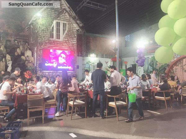 Cần sang gấp quán Cafe Sân vườn & Restaurant