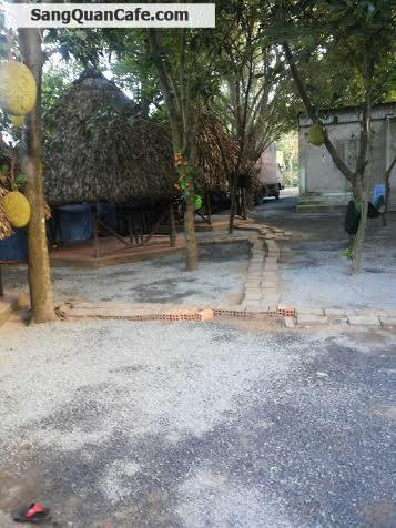 Cần sang gấp quán cafe sân vườn gần cầu vượt Củ Chi