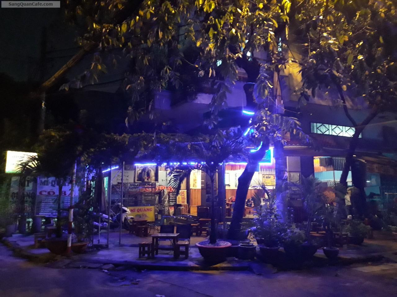 Cần sang gấp quán cafe sân vườn kết hợp ăn sáng
