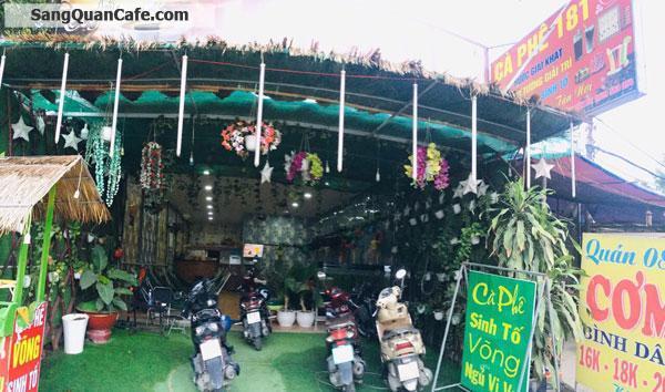 Cần sang gấp quán cafe võng khu vực Bình Tân
