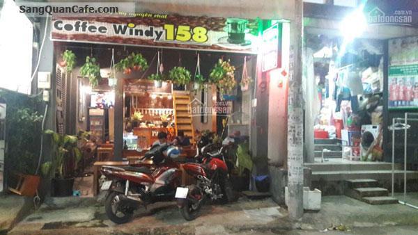 Cần sang gấp quán cafe Windy 158 Nguyễn Duy Cung, p12, Gò Vấp