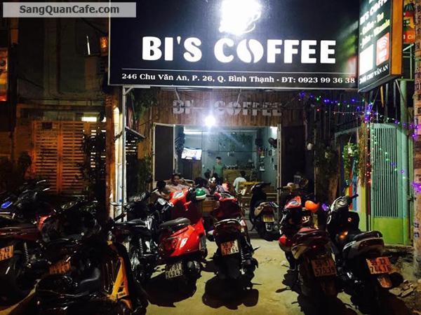 cần sang lại quán cà phê đường Chu Văn An