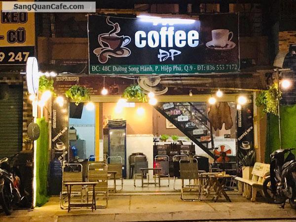 cần sang lại quán cafe đang kinh doanh tốt