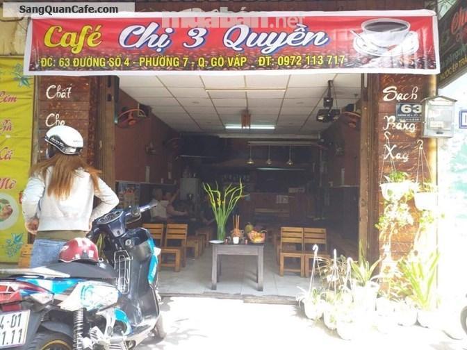 Cần sang lại quán cafe do không có người quản lý
