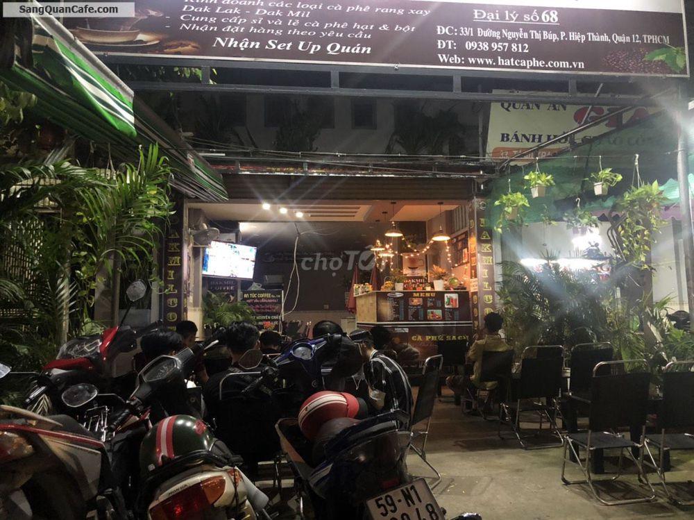 cần sang lại quán cafe Lisa nằm trên đường Nguyễn Thị Búp