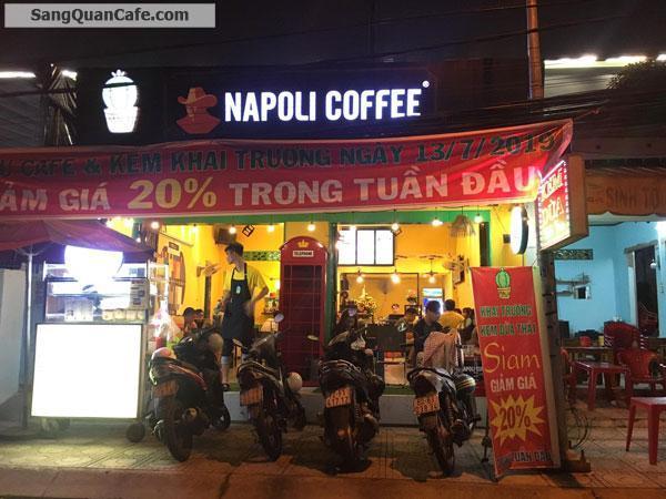 cần sang lại quán coffee Napoli