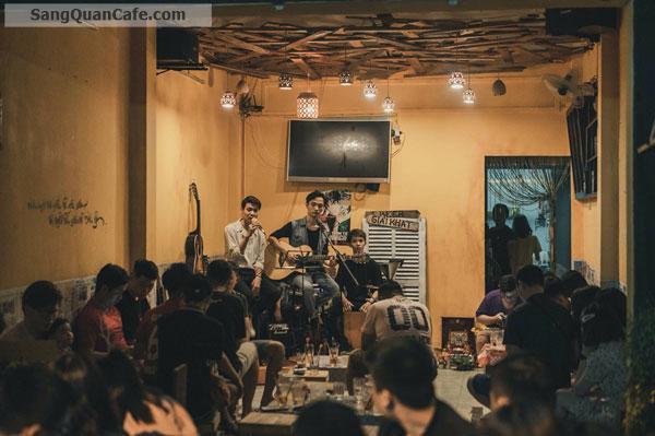 Cần sang nhượng quán cafe Acoustic